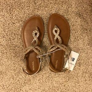 🌺 Gold Braided Sandals 🌺